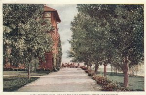 COLORADO SPRINGS, Colorado, 1900-1910s; Union Printers Home, driveway & walk