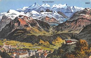 Switzerland Postcard Berneralpen