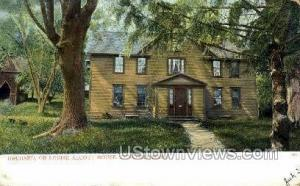 Louise Alcott's Home Concord MA 1906