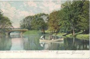 Willow Bridge, Roger William's park, Providence, Rhode Island, PU-1906