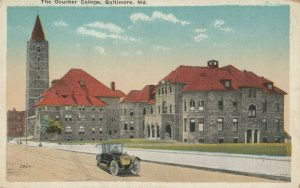 BALTIMORE, Maryland, 1900-1910s ;The Goucher College