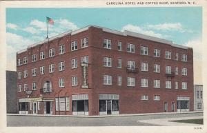 Carolina Hotel & Coffee Shop, SANFORD, North Carolina, 10-20s