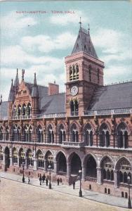 NORTHAMPTON, Northamptonshire, England, 1900-1910's; Town Hall
