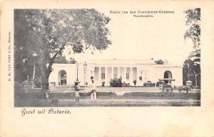 Batavia Indonesia, Republik Indonesia Paleis van den Gouverneur Generaal Wate...