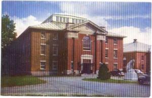 Gymnasium, Bowdoin College, Brunswick, Maine, ME,:Chrome