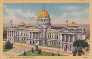 State Capitol Building Harrisburg Pennsylvania Curteich