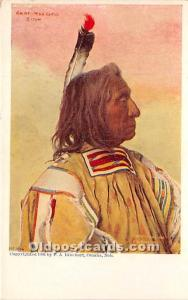 Chief Red Cloud Sioux Unused