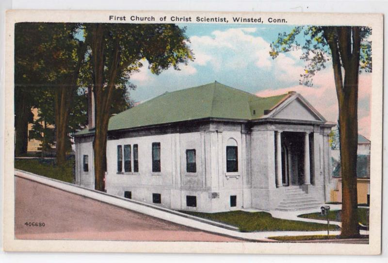 1st Church of Christ Scientist, Winsted, CT