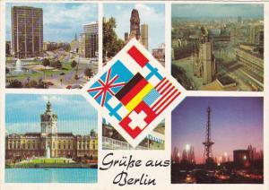 Germany Gruesse Aus Berlin Multi View