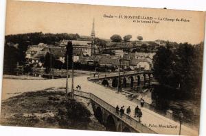 CPA DOUBS - MONTBÉLIARD - Le Champ de-Foire et le Grand Pont (183062)