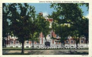 Library Bldg, University of Oklahoma Norman OK 1951