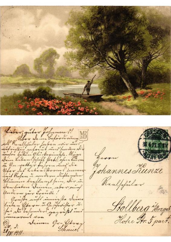 CPA Landschaften Meissner & Buch Litho Serie 1782 (730468)