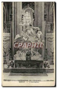 Old Postcard Bridan L & # 39Assomption Chartres Cathedrale