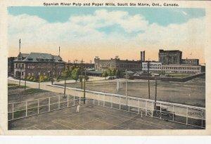 SAULT STE MARIE , Ontario , 00-10s ; Spanish River Pulp & Paper Mills