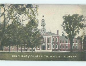 Divided Back SCHOOL SCENE Exeter New Hampshire NH J8679