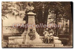 Postcard Old Embrun monument Clovis Hugues