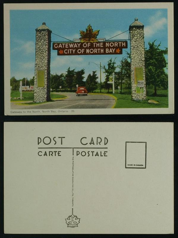 Gateway to the North North Bay Ontario PECO
