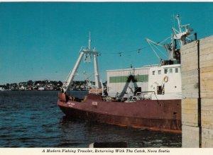 Modern Fishing Trawler , NOVA SCOTIA , Canada , 1950-70s