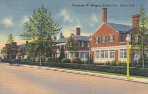 Delaware Dover Elizabeth W Murphy School 1943
