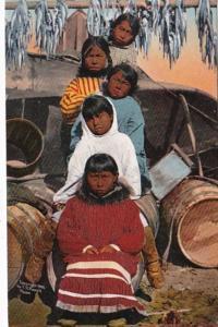 Alaska Typical Eskimo Children