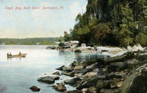 VT - Burlington. Eagle Bay, Rock Point