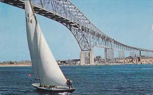 Blue Water Bridge, SARNIA, Ontario, Canada, PU-1963