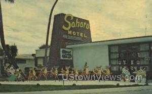Sahara Motel Daytona FL 1963