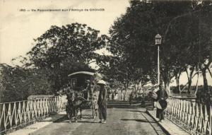 CPA Vietnam Indochine COCHINCHINE Cholon - Un Appontement sur l'Arroyo (60616)