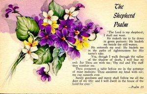 The Shepherd Psalm  (Psalm 23)