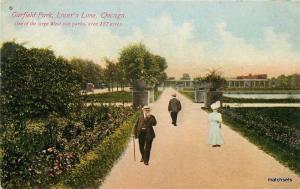 C-1910 Chicago Illinois Garfield Park Lovers Lane Franklin postcard 4631