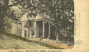 Oak Knoll, Whittier's Home Danvers MA Unused
