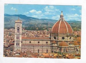 Brunelleschi´s Dome and Giottos Steeple, Firenze, Italy 1950-70s