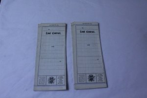 Lot of 2 Unused Vintage 1951 Series Land Contract Forms No. 213