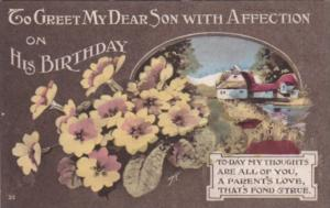 Birthday Greetings For My Dear Son