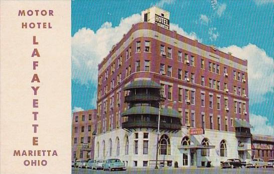 Motor Hotel Lafayette Marietta Ohio