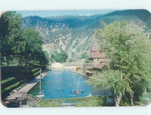 Pre-1980 SWIMMING POOL Glenwood Springs Colorado CO ho6149