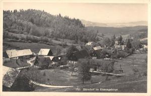 BG19142 barndorf im riesengebirge real photo Gruszkow poland 2
