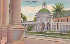 Jamaica Rodney's Memorial Spanish Town Curteich