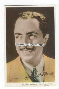 b4977 - Film Actor - William Powell, M.G.M.No.58 - postcard