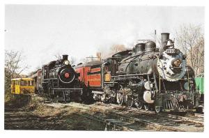 New Hope Ivyland Railroad No 1533 & No 40 Railway Postcard