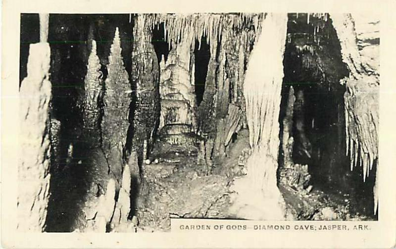 RPPC of Garden of Gods in Diamond Cave Jasper Arkansas AR