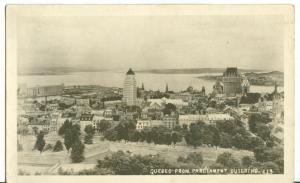 Canada, Quebec from Parliament Building, old unused RP