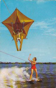 Human Kite Cypress Gardens Florida