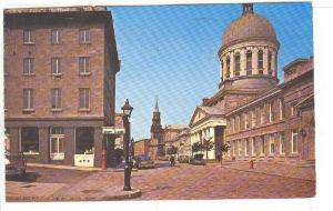 Bonsecours Market Building, St. Paul Street, Montreal, Quebec, Canada, PU-1970