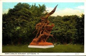 Pennsylvania Gettysburg North Carolina Monument 1930