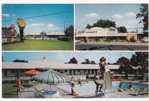 US 301 ; Clark´s Motel & Restaurant , SANTEE , South Carolina , 40-60s