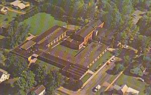 Aerial View Of San Rosario Extended Care Facility Cambridge Springs Pennsylvania