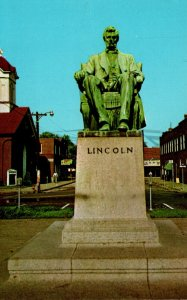 Kentucky Hodgenville Abraham Lincoln Statue