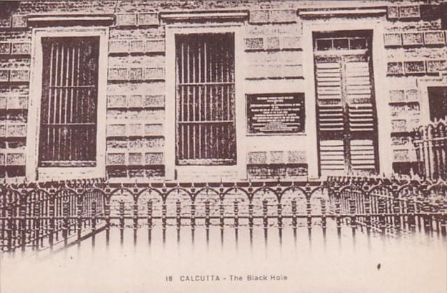 India Calcutta The Black Hole