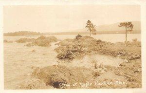 LPM42 Eagle Harbor  Michigan RPPC Postcard